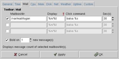 Gozer org: Programs: Gtk: MailDooHicky